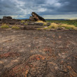 Landscape of Kakadu National Park before storm, Australia - Stock Photo