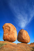 Devils Marbles , Northern Territory Australia — Stock Photo