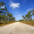 Stock Photo: Lonely Outback Highway in Northern Territory, Australia