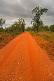 Outback road in the Northern Territory of Australia — Stock Photo
