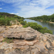 Landscape of Kakadu with Alligator River — Stock Photo