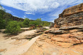 Standstone rock in Kakadu National Park — Stock Photo