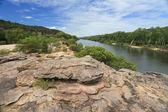 Landscape of Kakadu with Alligator River — Stock Photo