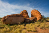 Boulder formation at the Devils Marbles Conservation Reserv — Stock Photo