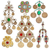 200 year old jewelery set — Foto de Stock