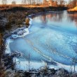 Stock Photo: Frozen Lake