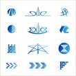 Abstract real estate icons — Stock Vector #29967569