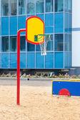 Basketbal mand — Stockfoto