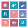 Abstract beauty icons for corporate identity — Stock Vector #50969897
