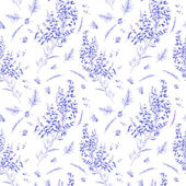 Seamless watercolor pattern — Stock Photo