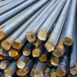Reinforcing steel bars for building armature — Stock Photo #18526579