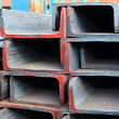 Stock Photo: Steel Profiles