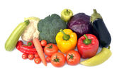 Fresh vegetables mix — Stock Photo
