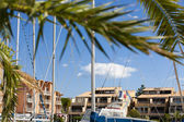 Vacation Rentals in Marina of Gruissan — Stock Photo