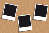 Cork board - Bulletin board - Pinboard — Stock Photo