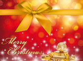 Christmas Greeting Card - Merry Christmas — Stock Photo