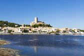 View of the village Gruissan — Stock Photo