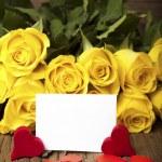 Writable greeting card — Stock Photo #18732861