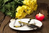 Arreglo romántico — Foto de Stock