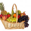 Stock Photo: Colorful fruit basket