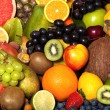 Foto Stock: Fruit background