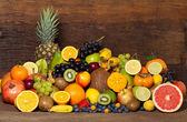 巨型 fruitmix — 图库照片