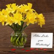 Dear greetings for Mothers Day — Stockfoto