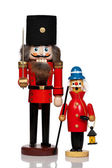 Nutcracker and Christmas Smoker — Stock Photo