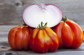 Coeur de Boeuf Tomatoes — Stock Photo