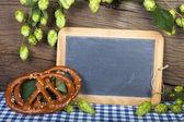 Writable Slate Blackboard — Stock Photo
