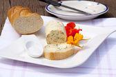 Manteiga de ervas caseiras de chagas — Foto Stock