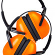 Stock Photo: Two Hearing Protection Ear Muffs