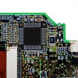 Stock Photo: Circuit board with SMD components