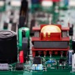 Stock Photo: Conventional electronic components
