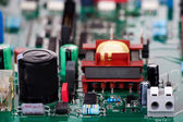 Conventional electronic components — Stock Photo