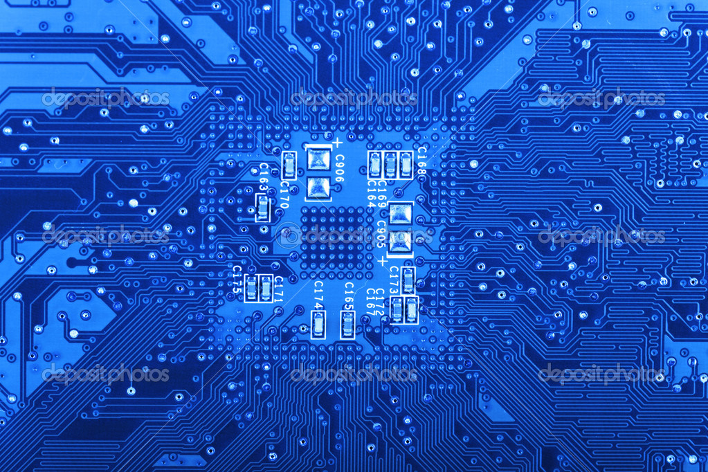 Computer Circuit Board — Stock Photo © TKphotography #32843899