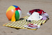 Pláž scénu pozadí — Stock fotografie