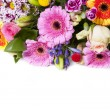 Stock Photo: Colorful bouquet as greeting card