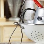 Kitchen cooking utensils — Stock Photo #41722457