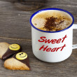 Coffee for my Sweet Heart — Stock Photo
