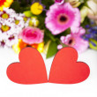 Stock Photo: Love Greetings with Hearts