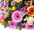 Colorful bouquet as a greeting card — Stock Photo