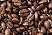 Hintergrund der Kaffeebohnen gemacht — Stockfoto