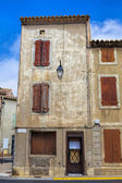 Very old residence in Gruissan — Stock Photo