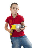 Drilling master — Stock Photo