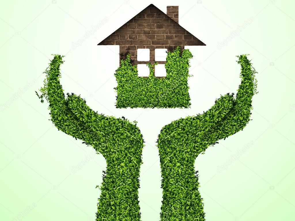 Prendre soin de l 39 environnement bras hors de l 39 herbe avec - Maison de l ecologie ...