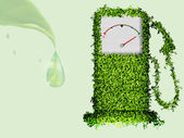 Pojęcie czystej energii na planecie — Wektor stockowy