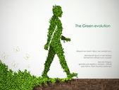 Le concept d'énergie propre sur la planète — Vecteur
