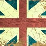 Vintage English flag — Stock Vector #15855967
