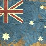 Vintage Australian Flag — Stock Vector #15856067
